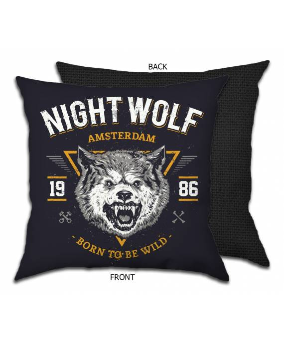 Funda Cojín NIGHT WOLF