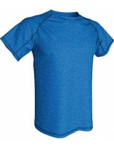 Camisetas Cheviot poliéster Acqua Royal