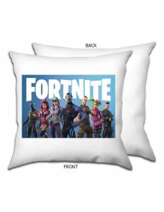 Funda Cojín Fortnite Blanca