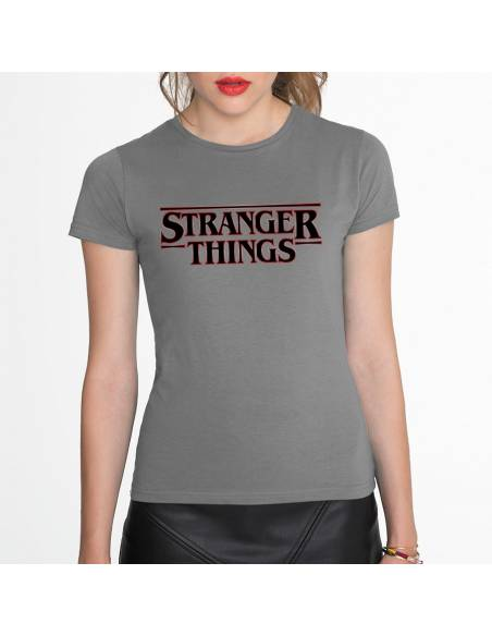 Camisetas Stranger Things Logo W