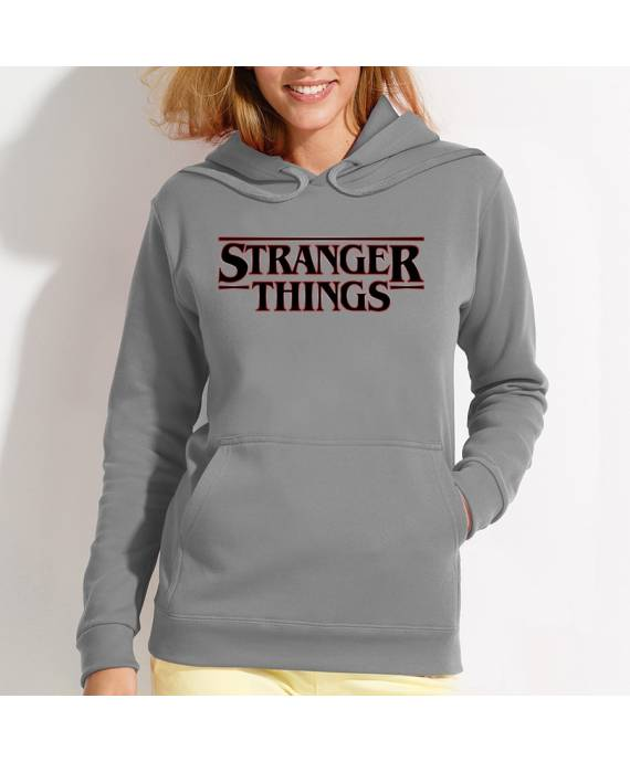 Sudaderas Stranger Things Logo W