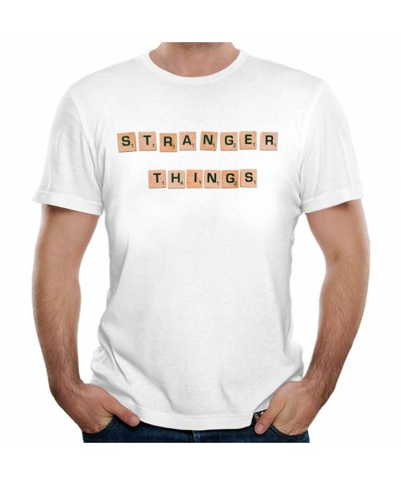 Camisetas Stranger Things algodón marKamania Factory