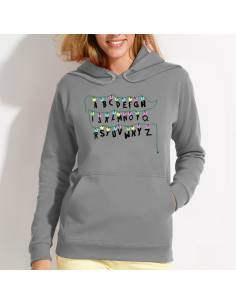 Sudaderas Abc Stranger Things W