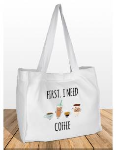 Bolsas I NEED COFFEE