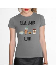 More about Camisetas I Need Coffee W