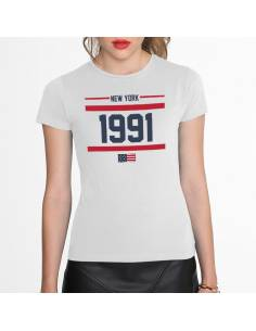 More about Camisetas New York 1991 W