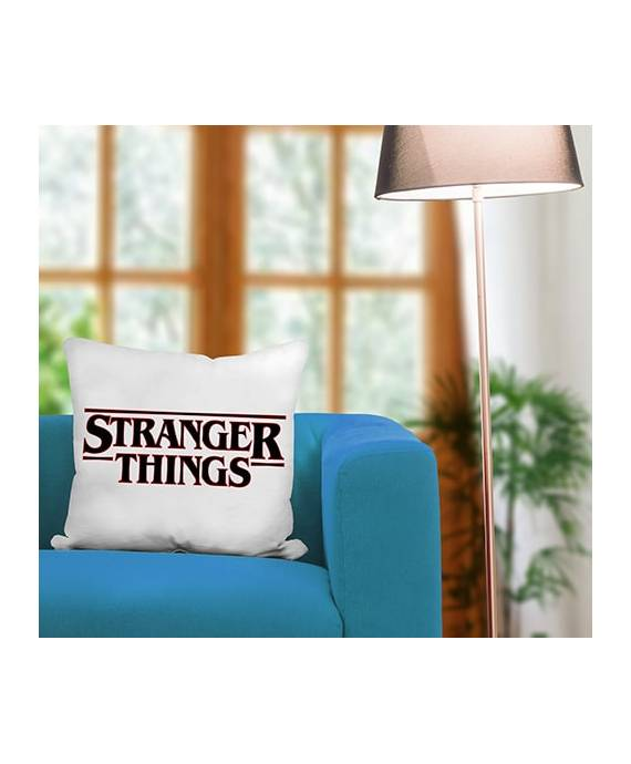 Funda Cojín Stranger Things Logo poliéster marKamania Factory