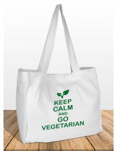 Bolsas Keep Calm and Go Vegetarian