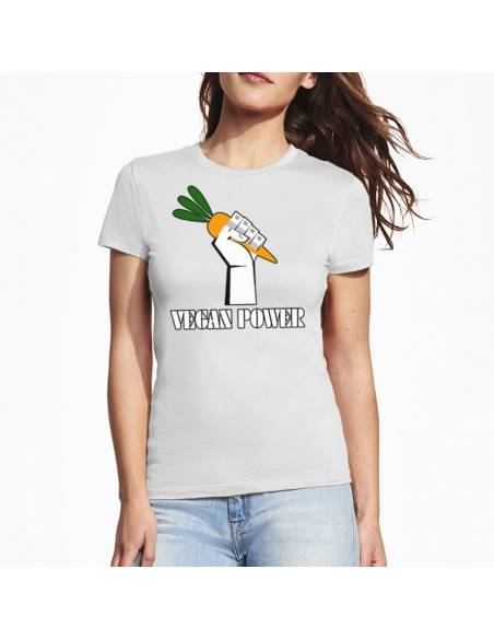 Camisetas Vegan Power W
