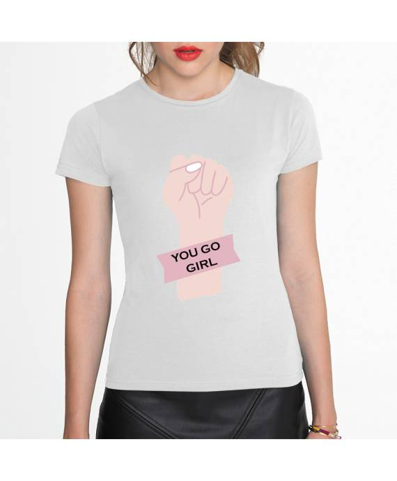 Camisetas You Go Girl W algodón marKamania Factory