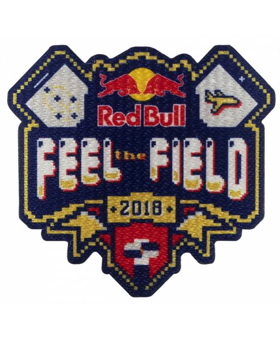 Parche Red Bull Feel The Field Stick marKamania Factory