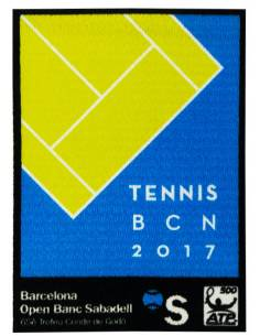 More about Parche TENNIS BCN 2017 Stick