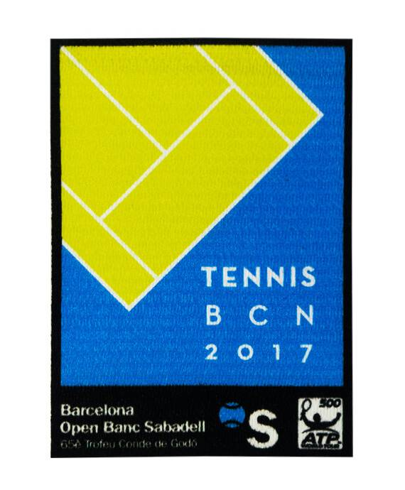 Parche TENNIS BCN 2017 Stick marKamania Factory