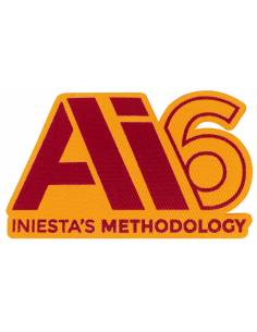More about Parche INIESTA'S METHODOLOGY Twill