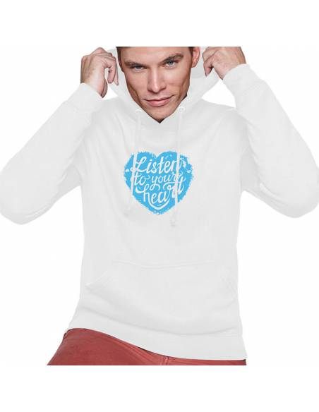 Sudaderas Capucha Listen To Your Heart