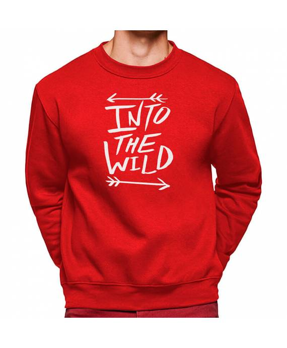 Sudaderas Cuello Redondo Into The Wild