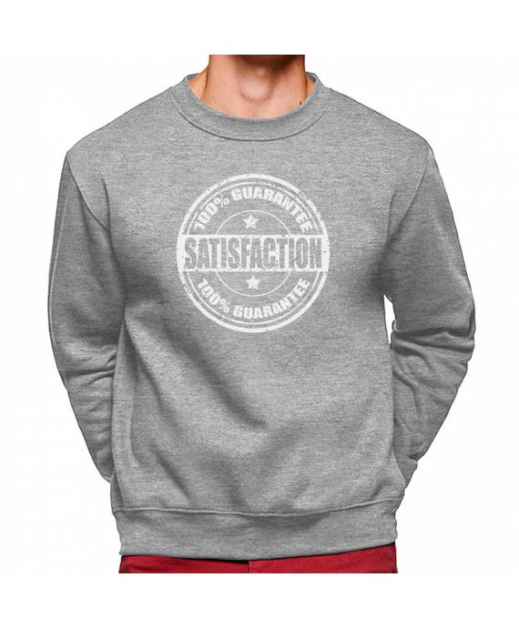 Sudaderas Cuello Redondo Satisfaction Guarantee