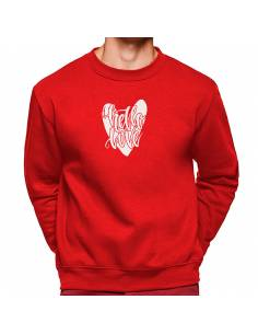 More about Sudadera Cuello Redondo Hello Love