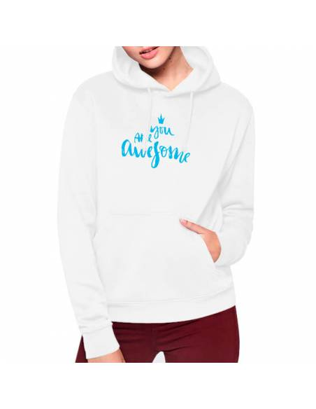 Sudaderas Capucha Awesome W