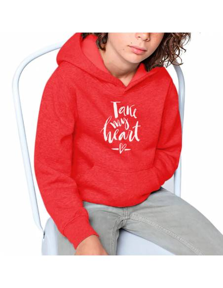 Sudaderas Capucha Take My Heart K