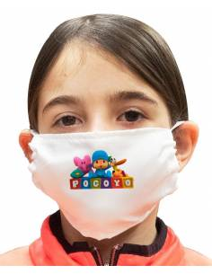 More about Mascarilla Infantil Pocoyo Doble Capa