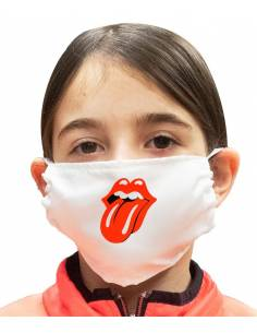 More about Mascarilla Infantil Rolling Stones Doble Capa