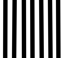 Blanco rayado - Negro