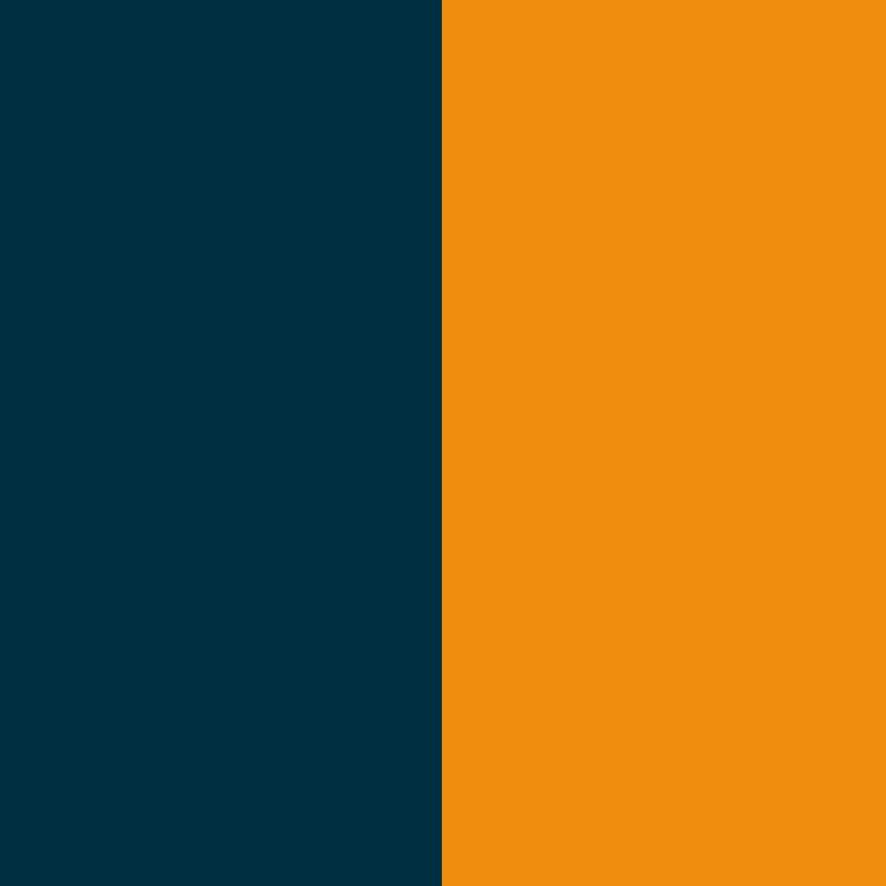 French Marino - Naranja Fluor